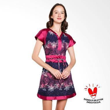 lombang-batik_lombang-batik-obi-dress-wanita_full05 Ulasan Harga Baju Batik Wanita Yang Bagus Terbaru tahun ini