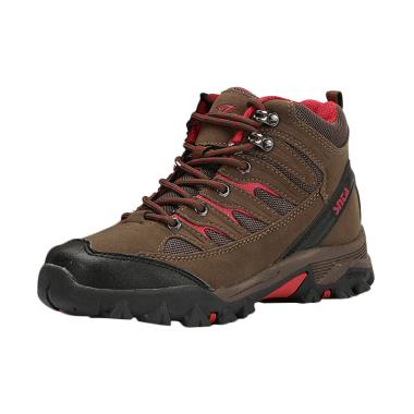 Snta 605 Sepatu Outdoor - Brown Red