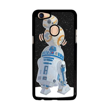 Flazzstore Star Wars R2D2 Bb8 L1708 Custom Casing for Oppo F5