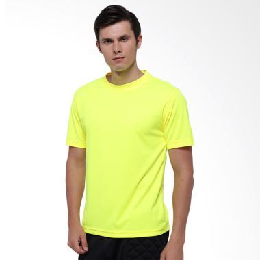 Hitscore T-Shirt Kaos Oblong Lengan Pendek - Yellow