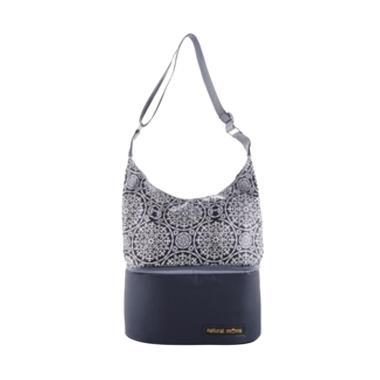 Natural Moms Tote Series Cooler Bag - Silver Iznik