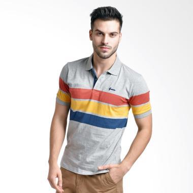 Hammer Polo Shirt Atasan Pria - Multicolor [I1PS413A1]