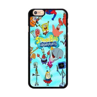 Flazzstore Spongebob Squarepants Favourites Y2023 Premium Casing for iPhone 6 or iPhone 6S