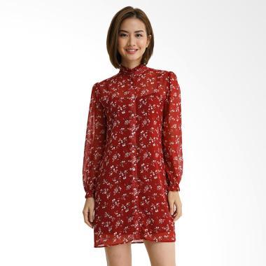 Minimal Little Poem Combo Tunic Dress