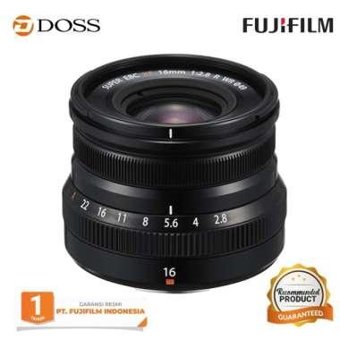 DOSS FUJIFILM XF 16mm f/2.8 R WR Lens / Fujinon XF 16mm BLACK