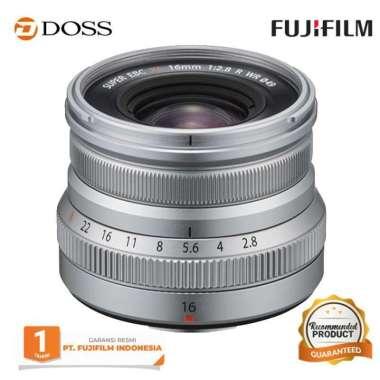 DOSS FUJIFILM XF 16mm f/2.8 R WR Lens / Fujinon XF 16mm SILVER