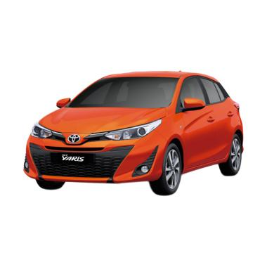 Toyota New Yaris 2018 1.5 G Grade Mobil - Orange Metallic