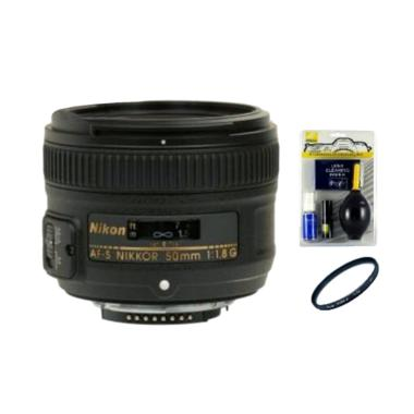 Nikon 50mm f/1.8G with ACC Lensa Kamera