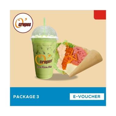 O'Crepes Package 3 E-Voucher