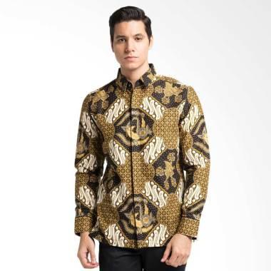Arthesian Batik Antasena Batik Printing Kemeja Pria - Hitam