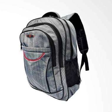 Polo Alfito Laptop Backpack Wanita - Grey