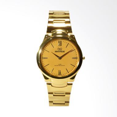 Mirage Jam Tangan Pria - Gold [7398-A]