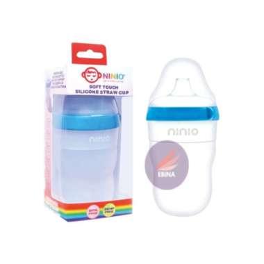 harga Terbaru NINIO Botol Susu Silicone Bayi dengan sedotan - BST102 Limited Blibli.com