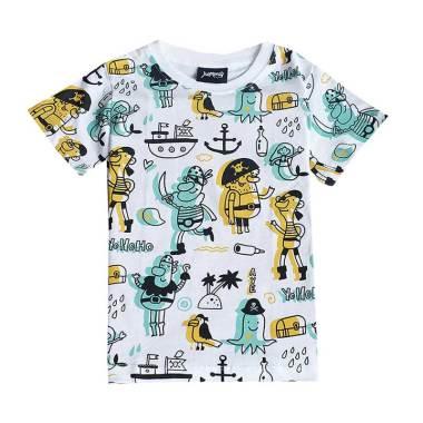 Kazel Babywear Source · Jumma Kids The Old Salt Full Printed Kaos Anak .