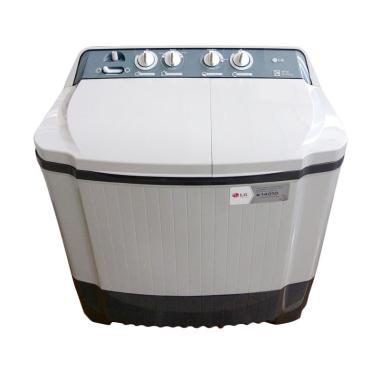 LG P120R Semi Auto Washer Mesin Cuci [2 Tabung]