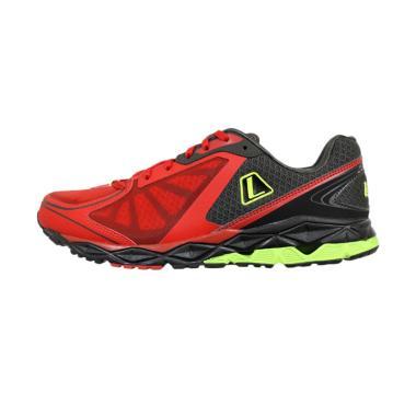League Zip Run M Sepatu Lari Pria - Red