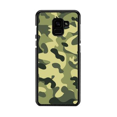 Guard Case Army Camouflage O1233 Custom Hardcase Casing For Samsung Galaxy A5 2018
