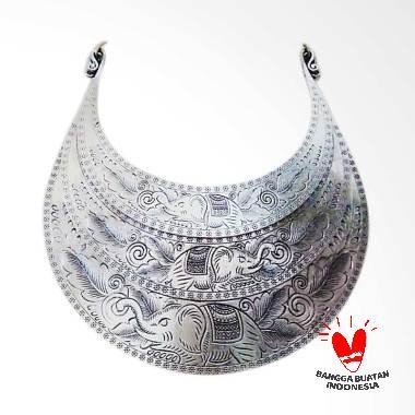 TiTi Co SL02EL Etnik Thailand Kalung Wanita - Silver