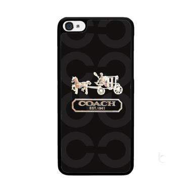 Acc Hp Coach Bag Logo X4194 Custom Casing for iPhone 4S