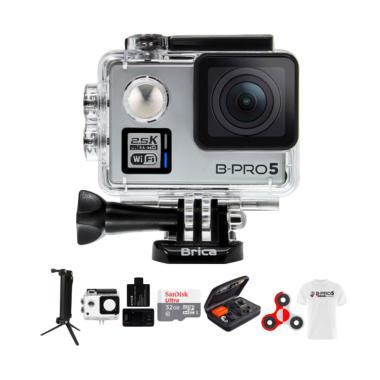 Brica B-PRO 5 Alpha Plus 2 AP2 Comb ... do Action Camera - Silver