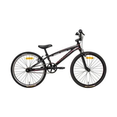 Thrill BMX Fiery Sepeda BMX - Black [MMJ JR AF / 20 Inch]