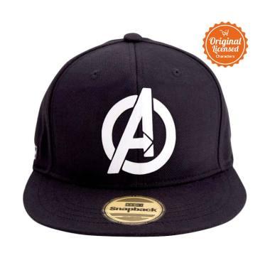 Disney Marvel Snapback Avengers Logo Topi Dewasa - Black 7a6f053bfb