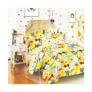 Beglance Linen Tsum Bed Sheet Set Sprei - Kuning