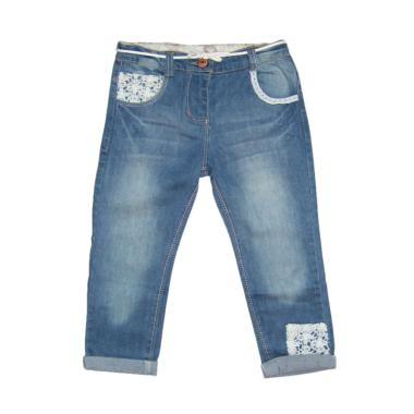 LittleMe Uky Panjang Celana Jeans Anak - Biru