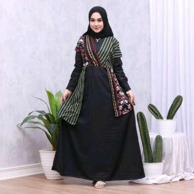 Gamis Batik Kimono Kombinasi Toyobo