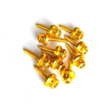harga 1 Pcs Baut Motor Aksesoris Motor Warna - GOLD Gold Blibli.com