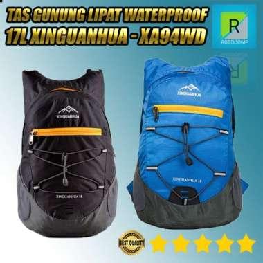 harga Unik Tas Gunung Lipat Waterproof 17L Xinguanhua - XA94WD - Biru Murah Blibli.com