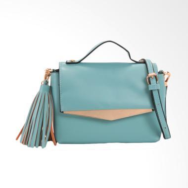 Lorica by Elizabeth Cressida Sling Bag Wanita - Hijau