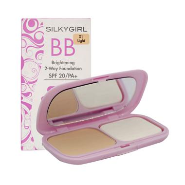 Silkygirl BB Brightening 2 Way Foundation - 01 Light  [320998]