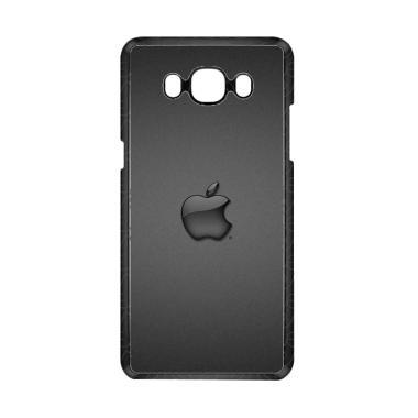 Guard Case Apple Logo Black O1231 C ... or Samsung Galaxy J7 2016