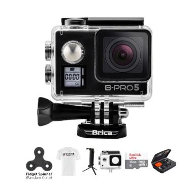 Brica B-PRO 5 AE Mark IIs AE2s Comb ... irt Action Camera - Hitam