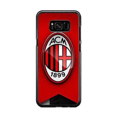 Guard Case Logo Ac Milan O1205 Cust ... or Samsung Galaxy S8 Plus