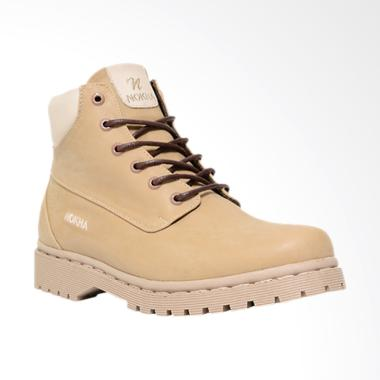 NOKHA Arlo Sepatu Boots Pria - Mocca