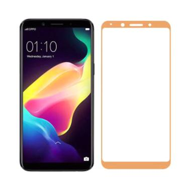 VR Tempered Glass Full Cover Oppo F ...  Protector Oppo F5 - Gold