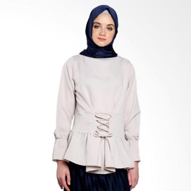 Covering Story Mardy Top C Blouse Muslim - Beige