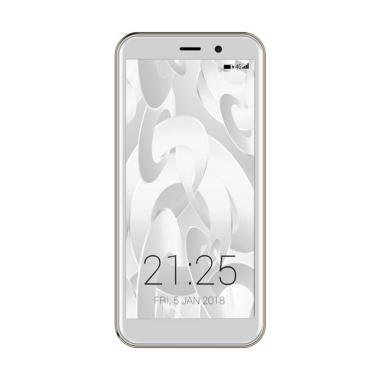 Advan Vandroid S5E Full View Smartphone - White Gold [8GB/ 1GB/ 4G]