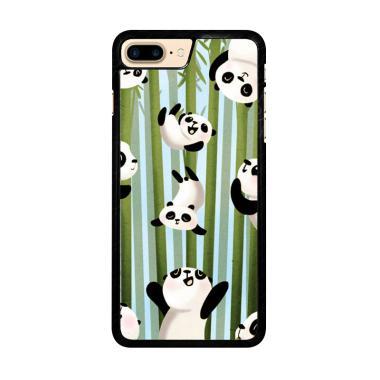 Flazzstore Panda Art Y1346 Premium  ... e 7 Plus or iPhone 8 Plus