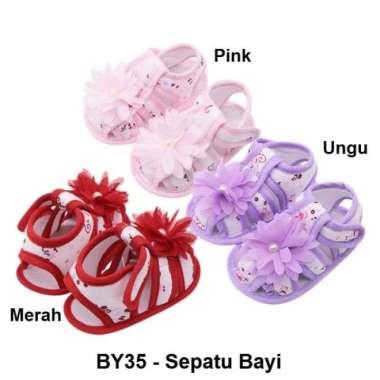 harga Promo BY35 - Sepatu Sendal Sandal Bayi Anak Prewalker Newborn Baby Shoes Murah Blibli.com