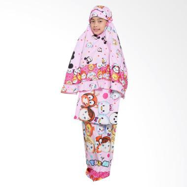Zahra Kids Tsum-Tsum Mukena Anak - Pink