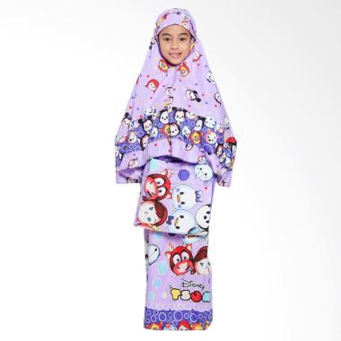 Zahra Kids Tsum-Tsum Mukena Anak - Puprle