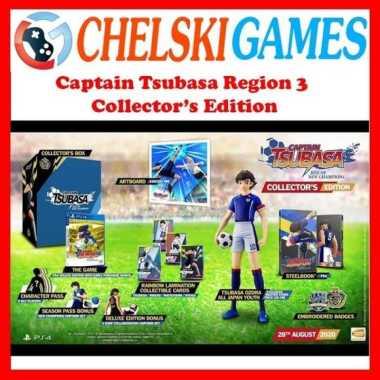 harga PS4 CAPTAIN TSUBASA RISE OF NEW CHAMPIONS COLLECTOR'S EDITION Reg 3 Blibli.com