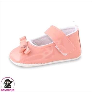harga Dijual LUSTY BUNNY Sepatu Bayi Prewalker Sol Kain Anti Slip PS8308 - 115 mm SALEM Murah Blibli.com