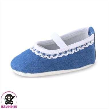 harga Jual LUSTY BUNNY Sepatu Bayi Prewalker Sol Kain Anti Slip PS8304 - 120 mm DONGKER Berkualitas Blibli.com