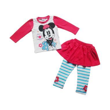 Disney Minnie 3in1 Setelan Anak Perempuan