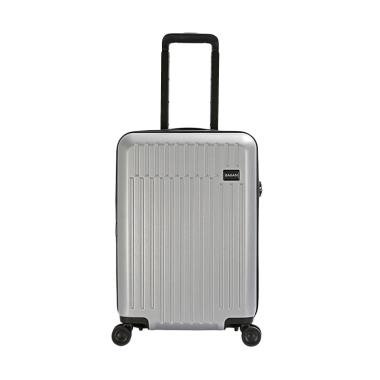 Bagasi Talaga Hardcase Koper - Silver [Small/ 21 Inch]