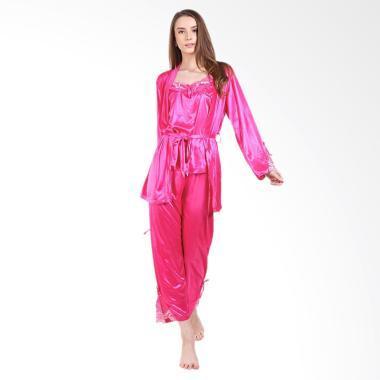 You've 999121 Kimono Shali Piyama Setelan Baju Tidur Wanita - Fanta